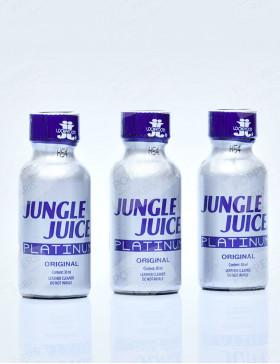 Lot de 3 bouteilles de Jungle Juice Platinum 30 ml