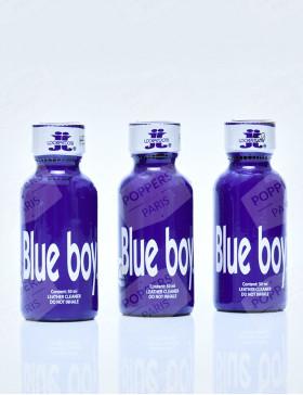 Lot de 3 flacons de 30 ml de poppers Blue Boy