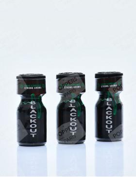 Pack de 3 flacons de poppers BlackOut