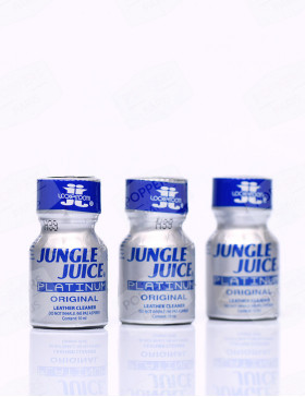 pack poppers : trois poppers jungle juice platinum 10 ml