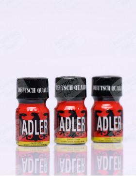 Pack de poppers Adler trois flacons de poppers de  10 ml