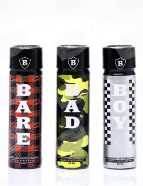 Pack de poppers Triple B 24 ml