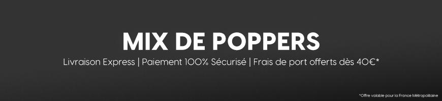 Mix de Poppers : Les Poppers aux Effets Puissants