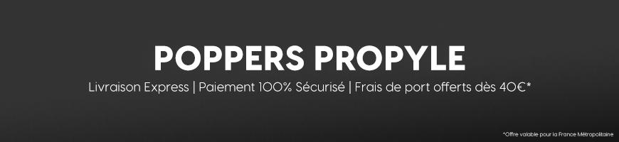 Poppers Propyle : le poppers mythique des années 80