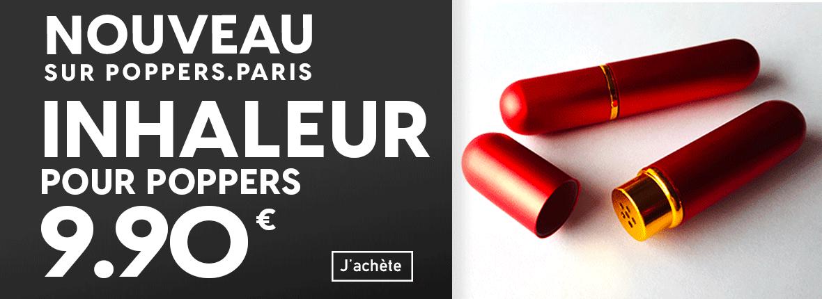inhalateur pour poppers à 9,90€